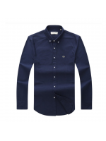 Lacoste Long Sleeve Shirt - Navy Blue