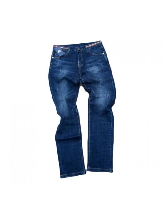 Slim Fit Design Jean - Blue