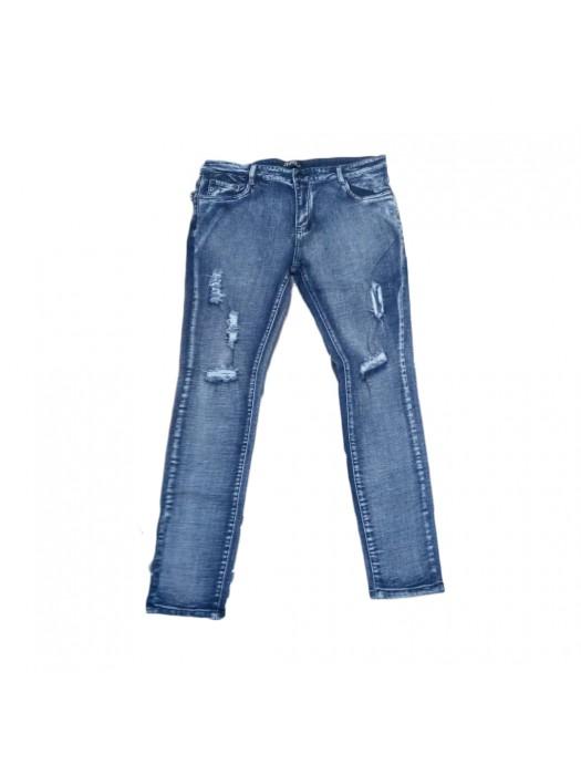 Slim Fit Crazy Jeans - Blue