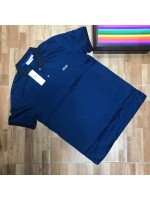 Dark Blue Collar Polo
