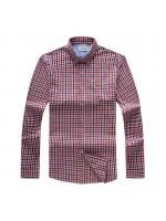 Lacoste Wine Stripe Shirts