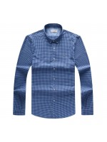 Blue Lacoste Long Sleeve Shirt