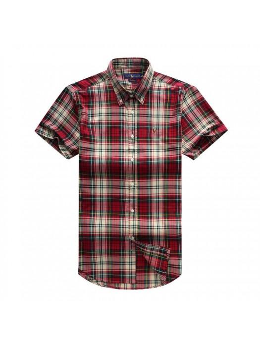 Striped Men's Short Sleeve Shirt