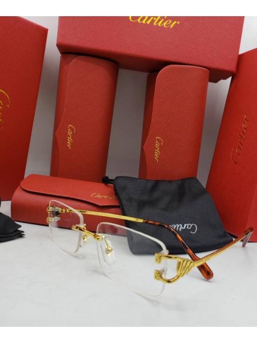 Cartier transparent  sunglasses