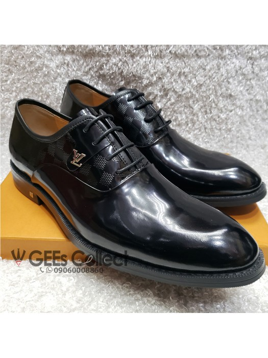 Patent Lace-up Louis Vuitton Shoe