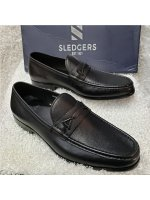 Plain Leather Sledgers Men's Loafer Shoe