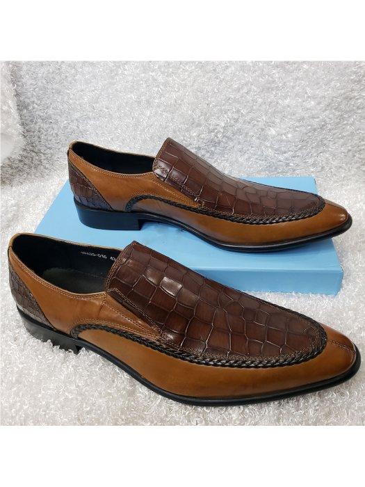 Vamp Croc Men's Loafer Shoe