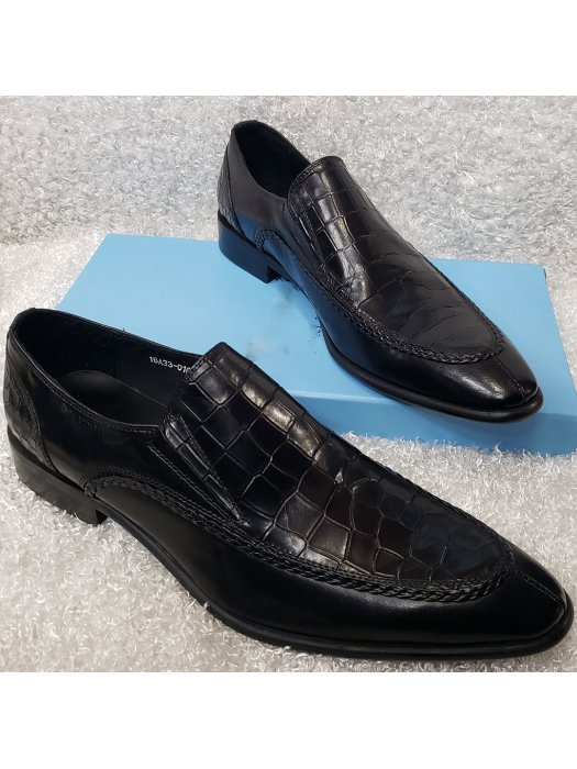 Vamp Croc Men's Loafer Shoe