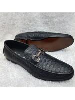 Feragamo Horsebit Loafer - Black