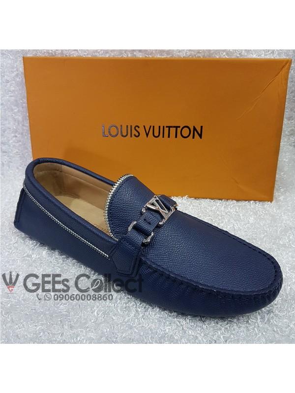 4516a2dff931 Blue Louis Vuitton Men s Loafers