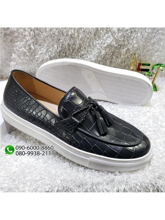Black Tassel Loafer Shoe