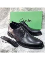 Plain Leather Men's Laced Shoe