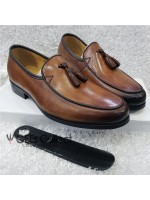 Brown Anax Men's Tassel Shoe