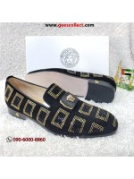 Versace Suede and Suede Loafer