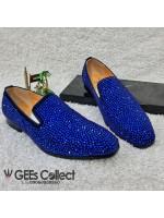 GZ Blue Studded Loafer