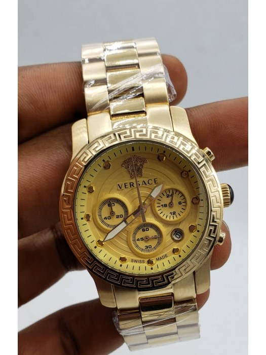 Versace Luxury Chronograph Watch
