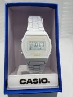 White Chain Casio Watch