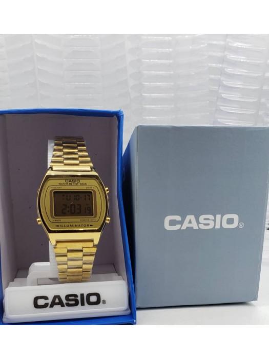Gold Chain Casio Wristwatch