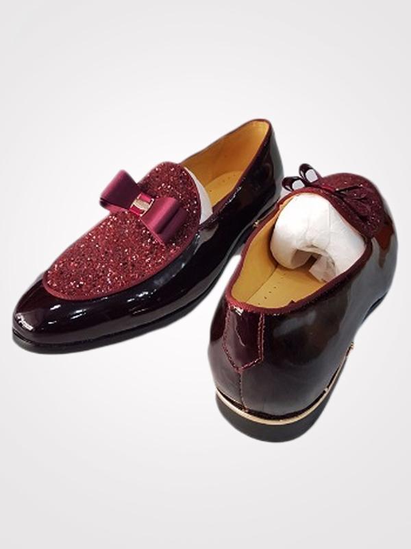 Cesare Paciotti Men's Bi-Material Bow Loafer